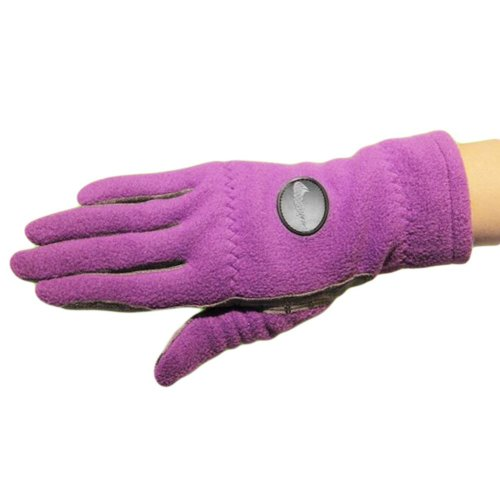 1 Pair Of Female Golf Gloves Non-slip Resistant Dirt Gloves-b