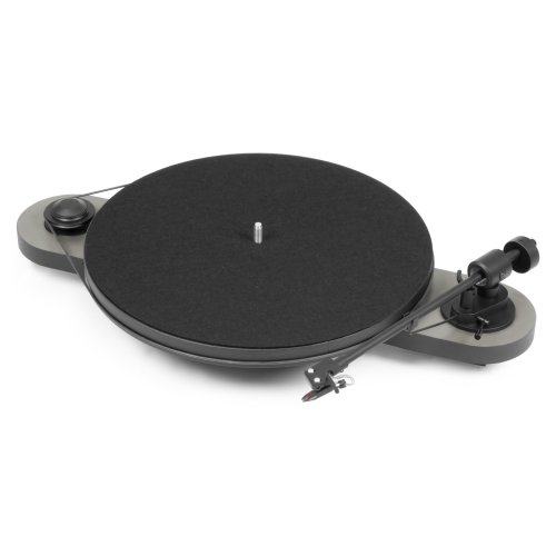 Pro-Ject Audio Systems Elemental Gray Audio Systems Elemental Hi-Fi Turntable - Silver