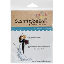Stamping Bella Cling Stamps-Brett & Brenda Get Married