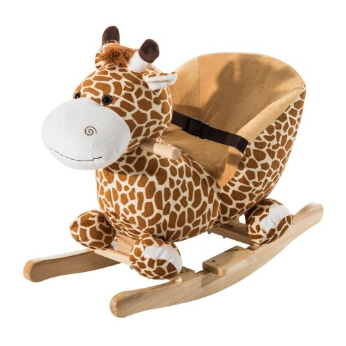 Homcom Rocking Giraffe Seat | Giraffe Baby Rocker