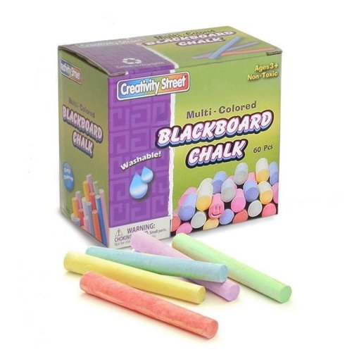 Pacon CK-1761BN Blackboard Chalk, Multicolor - Pack of 12 - 60 Per Pack