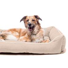 Dog Gone Smart Lounger Bed Sand 94x79cm