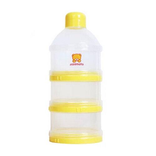 Baby Milk Powder Dispenser / Storage Container Three-Chamber Dispenser(bear)