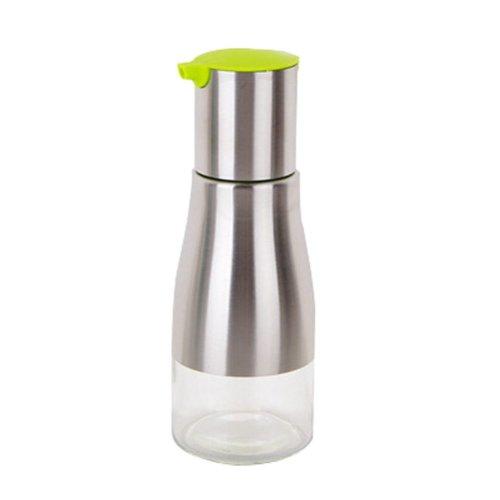 260ML Creative Kitchen Oil / Vinegar Cruet Square Glass Bottle Green
