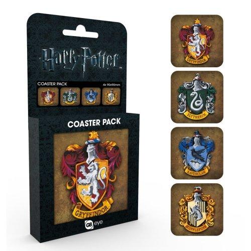 Harry Potter Crests Coaster Pack
