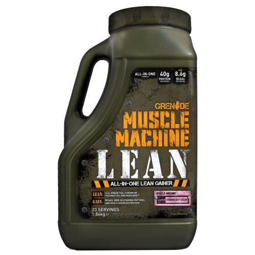 Grenade Muscle Machine Lean Gainer, Strawberry Cream - 1.84 kg
