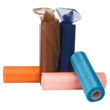 Club Green Organza 25m Snow Sheer Roll - Orange