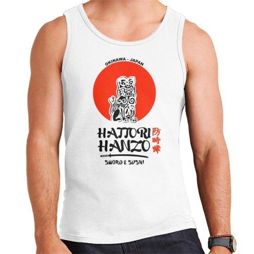Kill Bill Hattori Hanzo Sword And Sushi Men's Vest