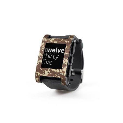 DecalGirl PWCH-DIGIDCAMO Pebble Watch Skin - Digital Desert Camo