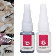15ml Sticky Eyelash Glue Long Lasting 30 Days With Slight Odor Irritation Eyelashes Extension