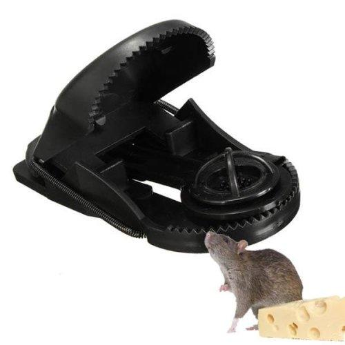 10pcs ABS Plastic Reusable Mouse Traps Rodent Catcher Garden Pest Control Tool