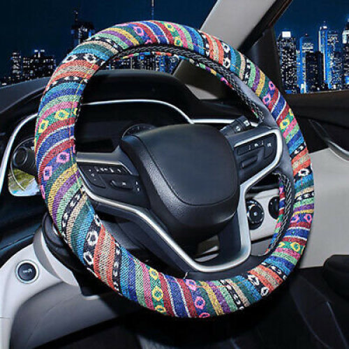 National wind car steering wheel cover GM steering wheel protection anti-skid UK