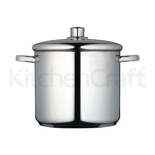 Kitchen Craft Master Class Stainless Steel Stockpot, 8.5 L