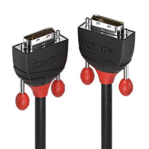 Lindy 36254 DVI cable 5 m DVI-D Black