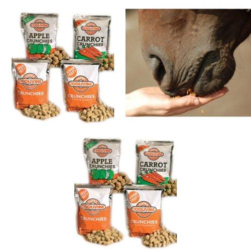 Super Codlivine Crunchies Horse Treats