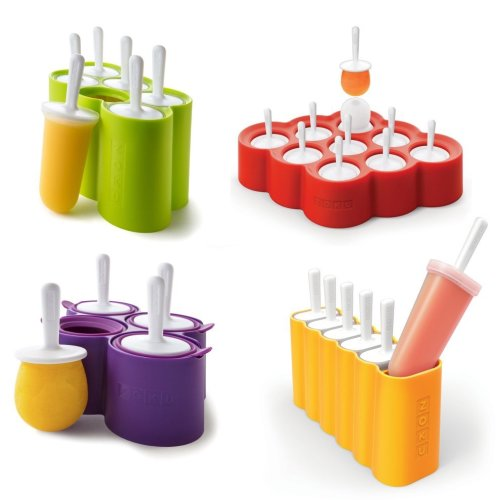 Zoku Slow Pops Silicone Ice Lolly Moulds