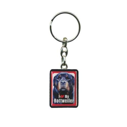 Rottweiler Dog Keyring