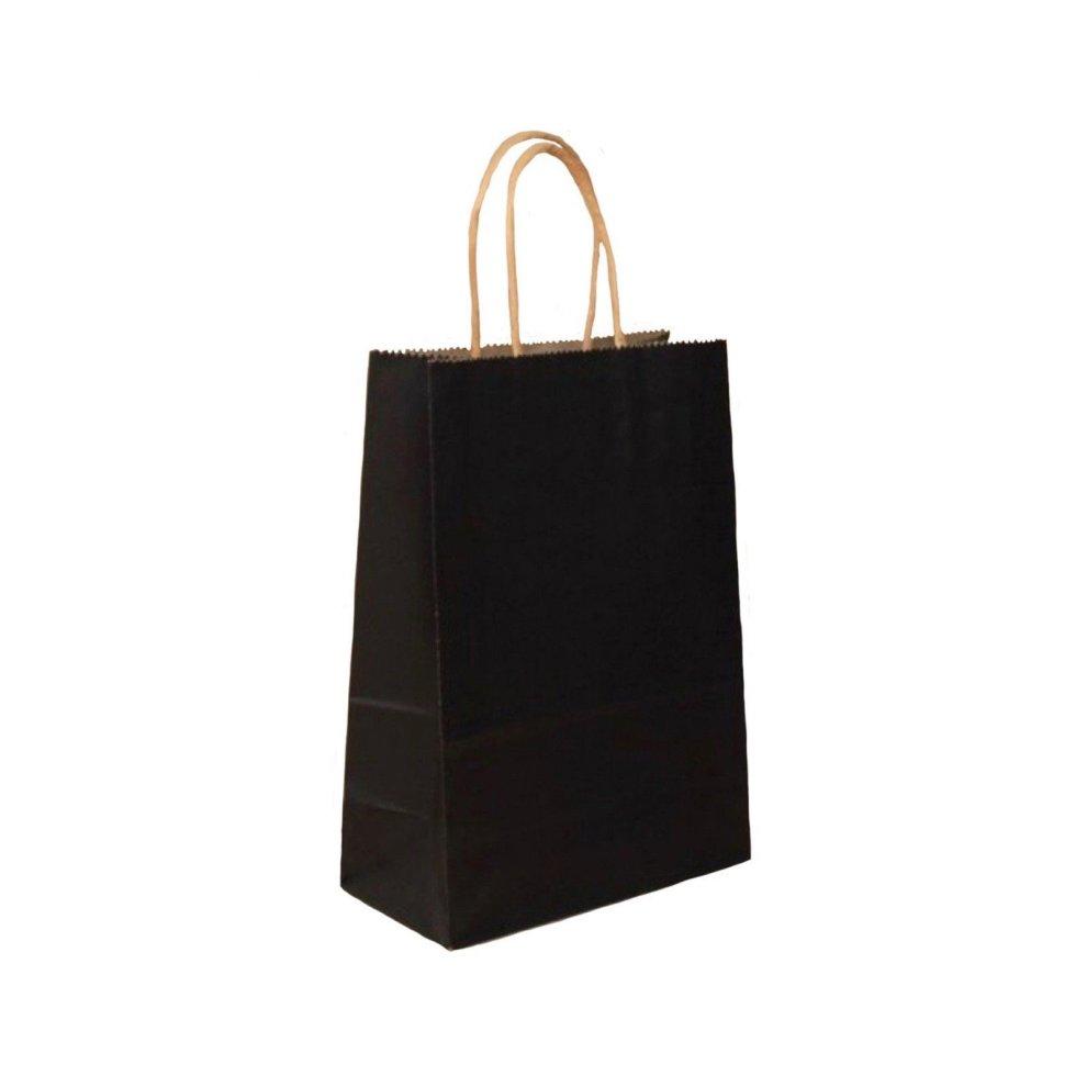 Pack Of 12 Paper Gift Bags Twisted Paper Handles Kraft Gifts Bulk Buy  Birthday