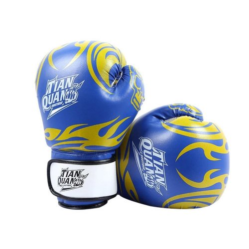 Boxing - Kickboxing Glove Full Finger Gloves -MMA 2 ---- Blue