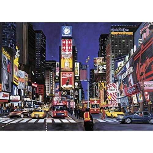 Ravensburger Times Square 1000 Piece Jigsaw Puzzle for Adults Every Piece is Unique Softclick Technology Means Pieces Fit Together Perfectly