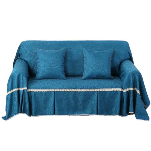 3 Seat Sofa Slipcover Elegant Couch Cover Furniture Protector #26