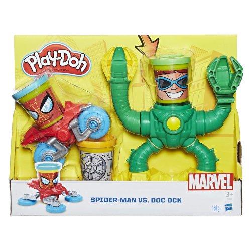 Play-Doh B9364EU5 Marvel Spider-Man vs Doc Ock Dough