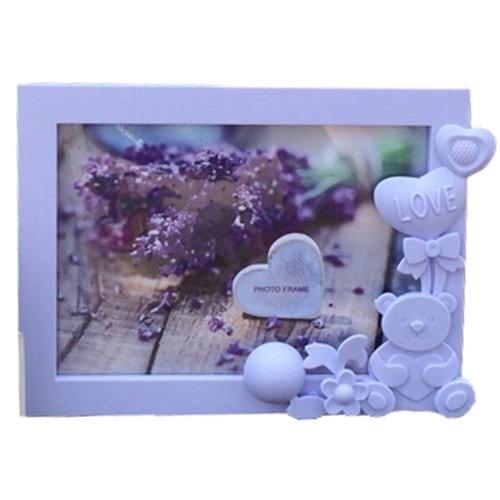 Lovely Bear Baby&Kids Picture Frame Photo Frames Plastic Frames,Purple