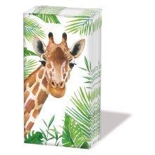 Tropical - Novelty Paper Tissues Handbag / Pocket Sized