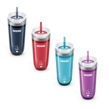 Zoku Iced Coffee or Tea Maker - Spill Resistant Insulated Travel Mug