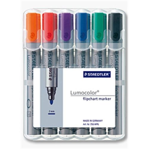 Staedtler 356 WP6 Black,Blue,Green,Orange,Red,Violet 6pc(s) marker