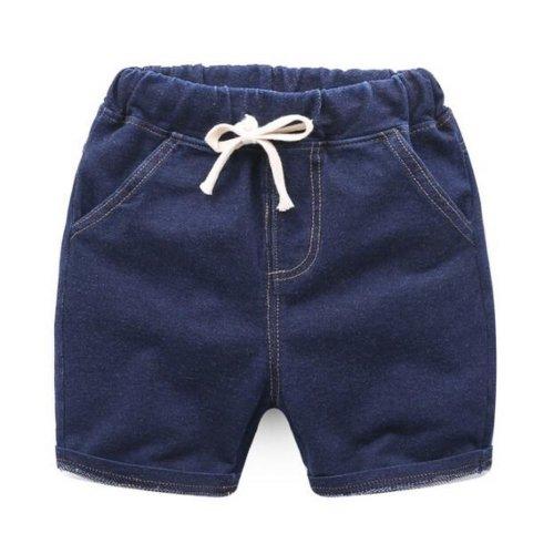 Baby Boy Short Pants Cute Short Pants for Summer Suitable for 130cm [F]