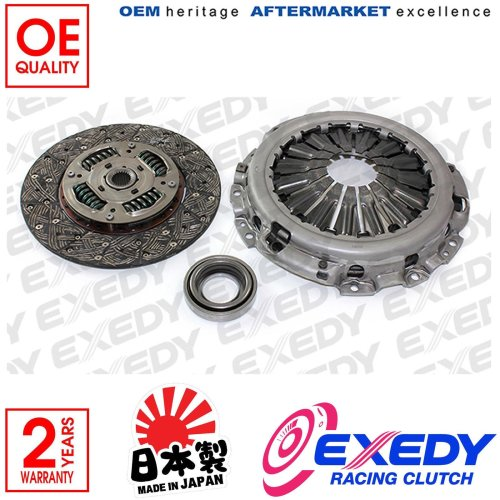 For Nissan Pathfinder R51 Navara D40 Exedy 3 Piece Clutch Kit Inc Bearing 250mm