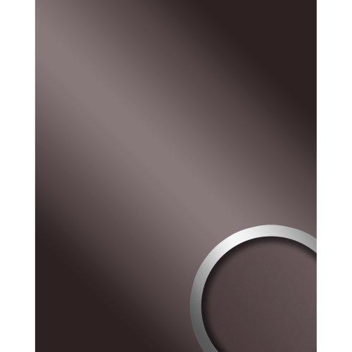 WallFace 10125 DECO ANTHRACITE Panel selfadhesive Mirror glossy grey 2.6 sqm
