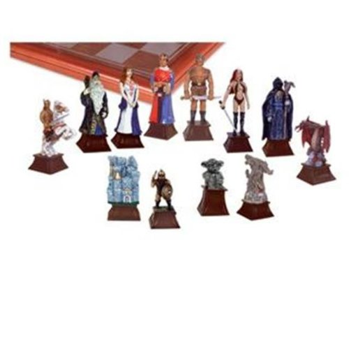 Good Vs. Evil Fantasy Chess Set