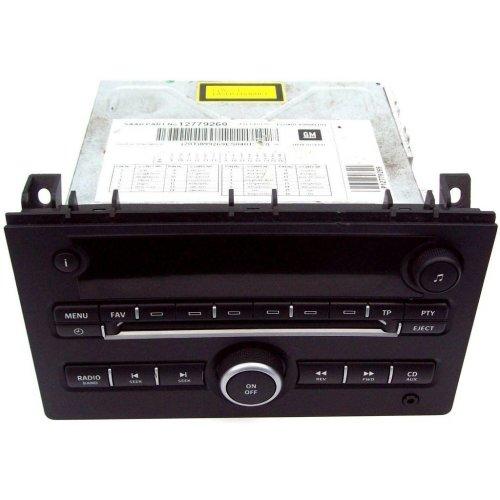 Saab 9 3 9-3 2008 CD Player Head Unit 12779269 122000-8980D101 No Code