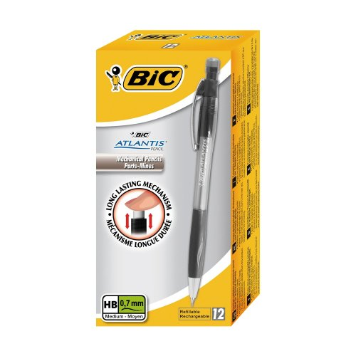 Bic Atlantis Mechanical Pencil 0.7 (pack of 12)