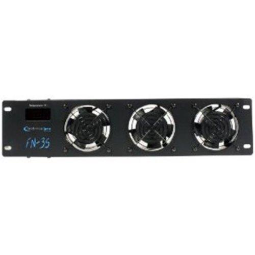 2 .5U Rack-Mountable Triple Fan Cooling Unit