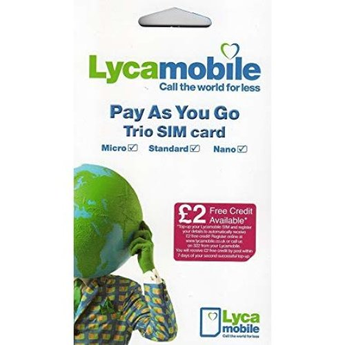 Lycamobile Pay As You Go