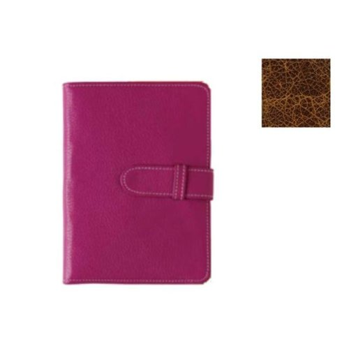 Raika VI 107 COGNAC 4 x 7 Wallet Photo Brag Book - Cognac