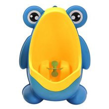 Potty Training Boy Baby Potty Chair Toilet Seats Bathroom Accessories Frog Blue
