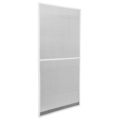Fly screen for door frame - white