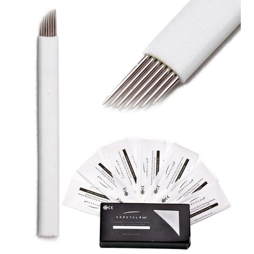 Microblading Blade 7 Pin Eyebrow Tattoo Needle