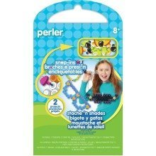 Prl52948 - Perler Beads - Snap Ins Ac Tivity Kit - Stache and Shades